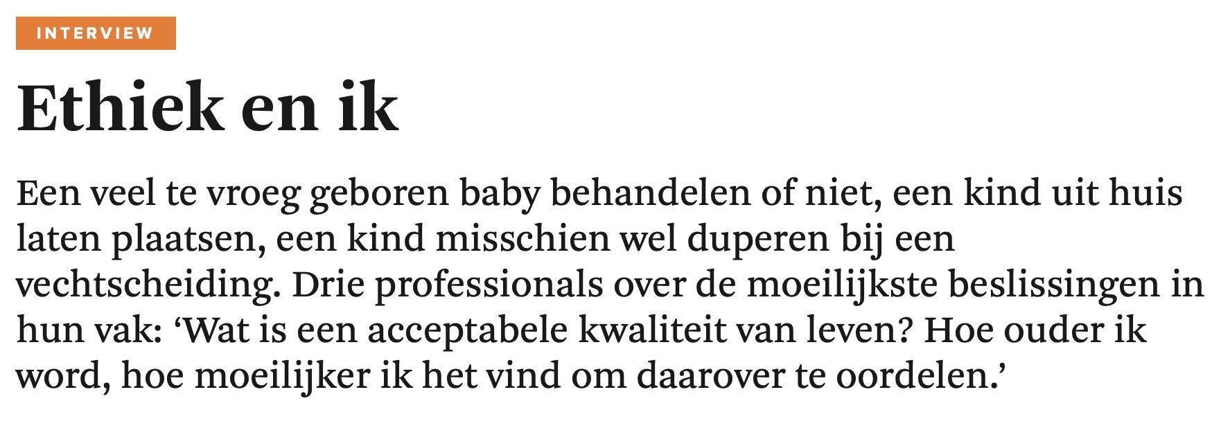 Ethiek En Ik – Fd.nl